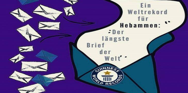 Ein Weltrekord für Hebammen – Der längste Brief der Welt