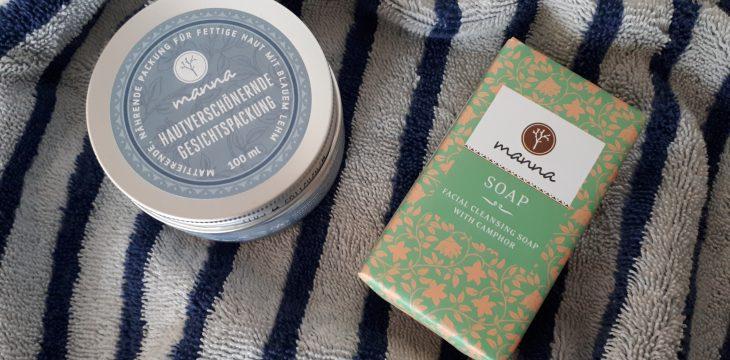 Werbung / Schöne Haut mit Manna Seife